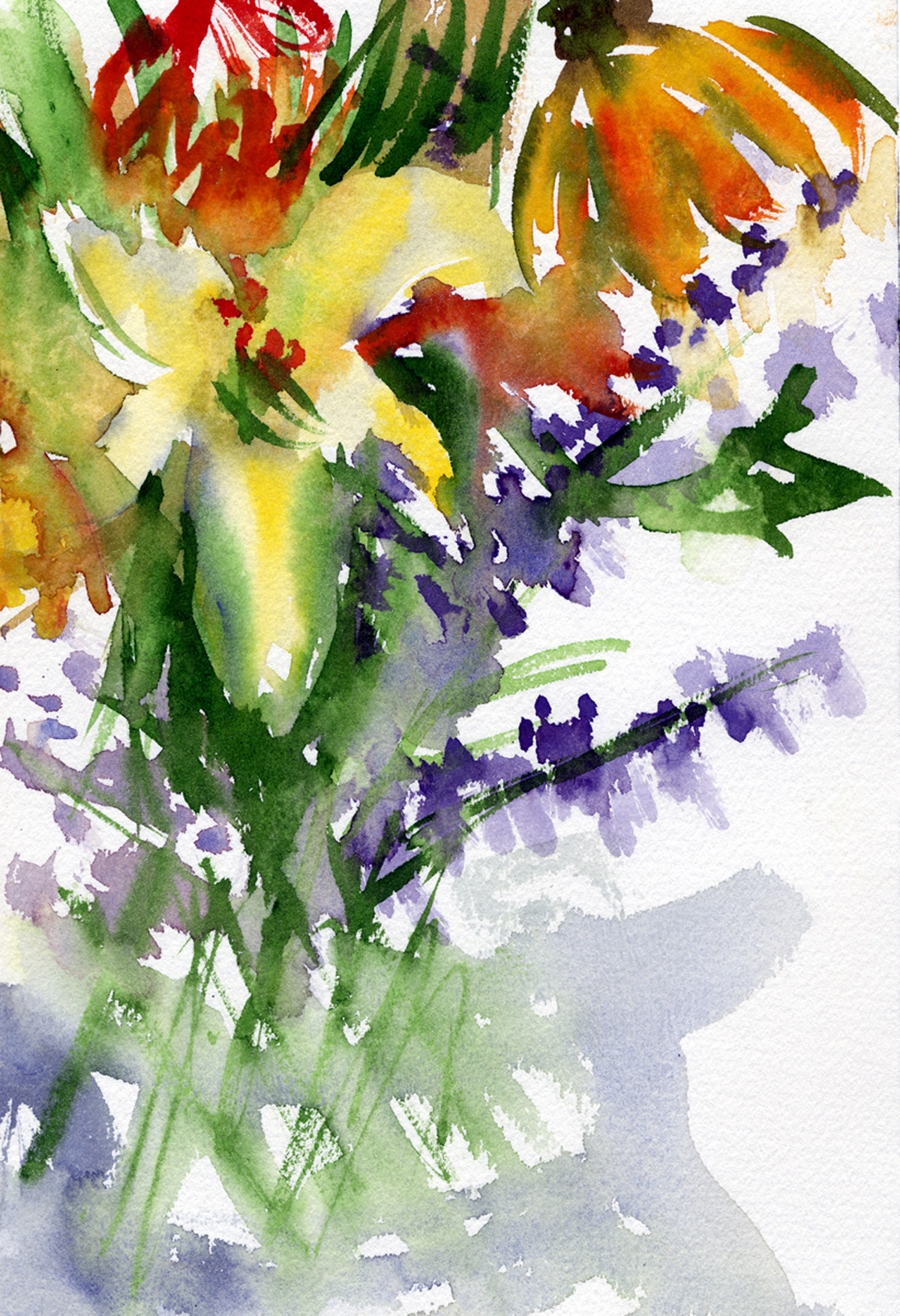 DAY LILIES AND MORE