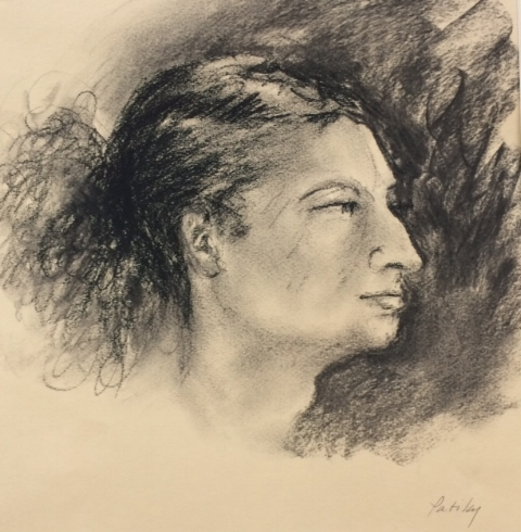 PROFILE IN CHARCOAL
