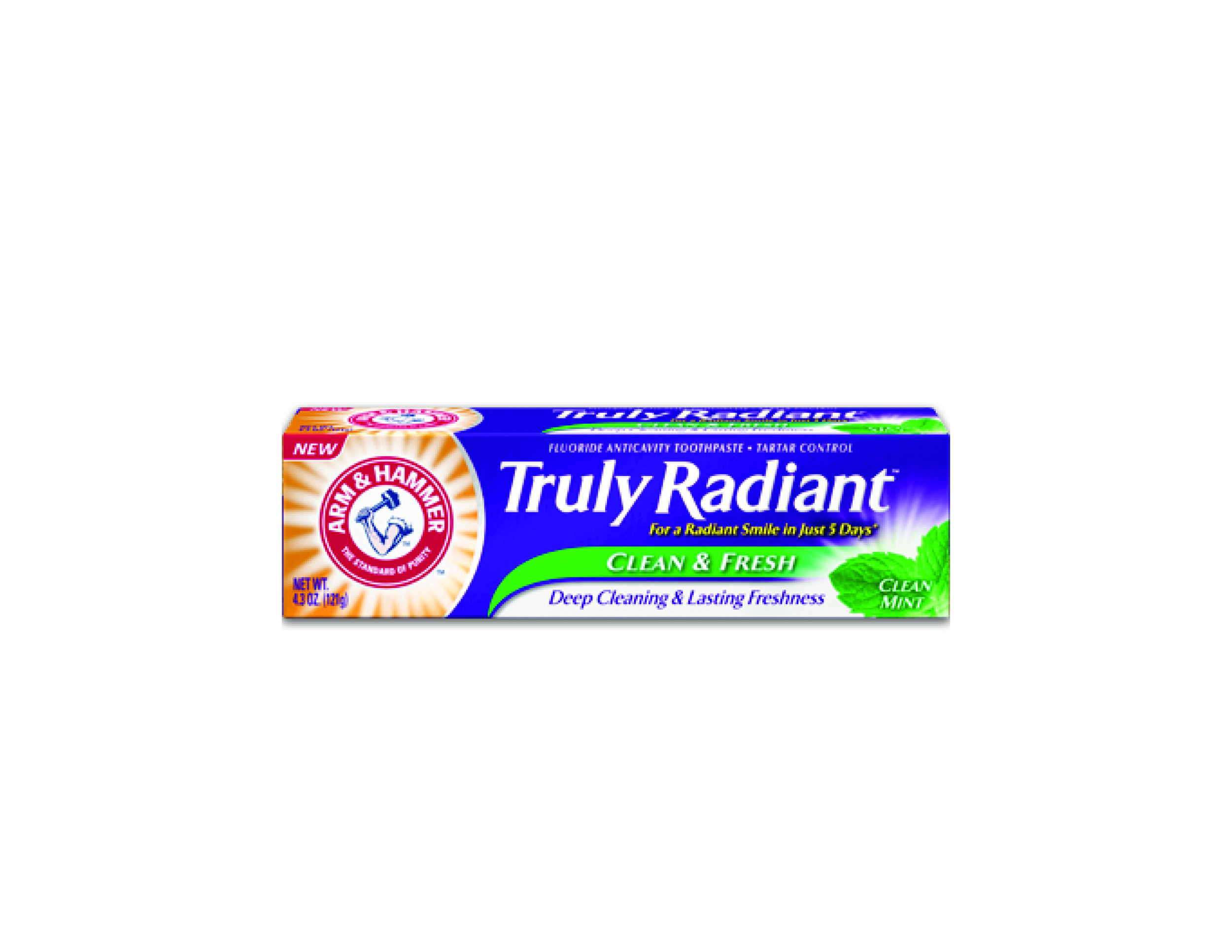 Arm & Hammer Truly Radiant Clean & Fresh Toothpaste & Arm & Hammer Battery-Powered SpinBrush $3.99. Available at drugstores & mass market retailers across Canada.