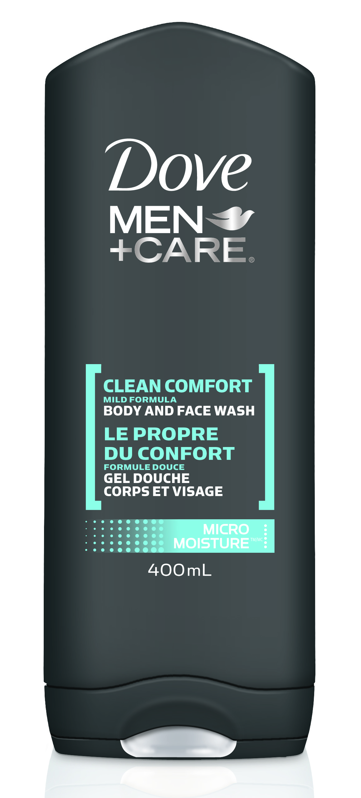 Dove Men+Care Clean Comfort Micro Moisture Body & Face Wash, $5.99. Available at drugstores.   Retire your soap on a rope in favour of this gel wash that gets you squeaky clean from head-to-toe. Simply suds up the lather leaves skin soft and hydrated with zero residue.