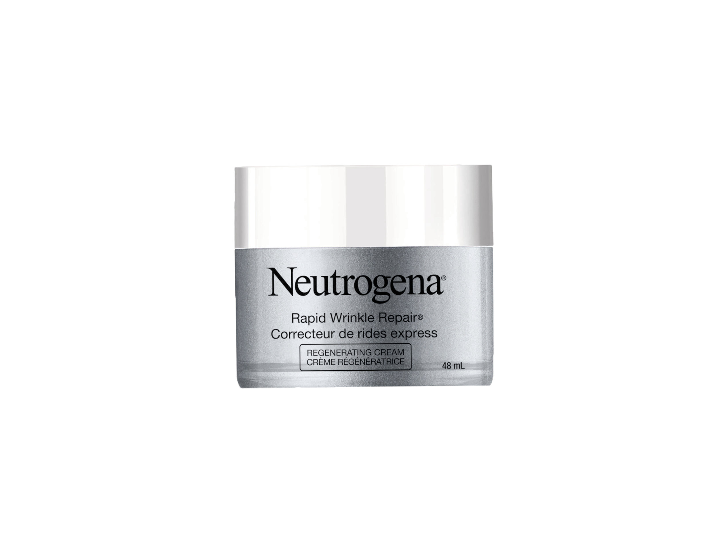 Neutrogena Rapid Wrinkle Repair Regenerating Cream, $36.99. Available at drug and mass retailers