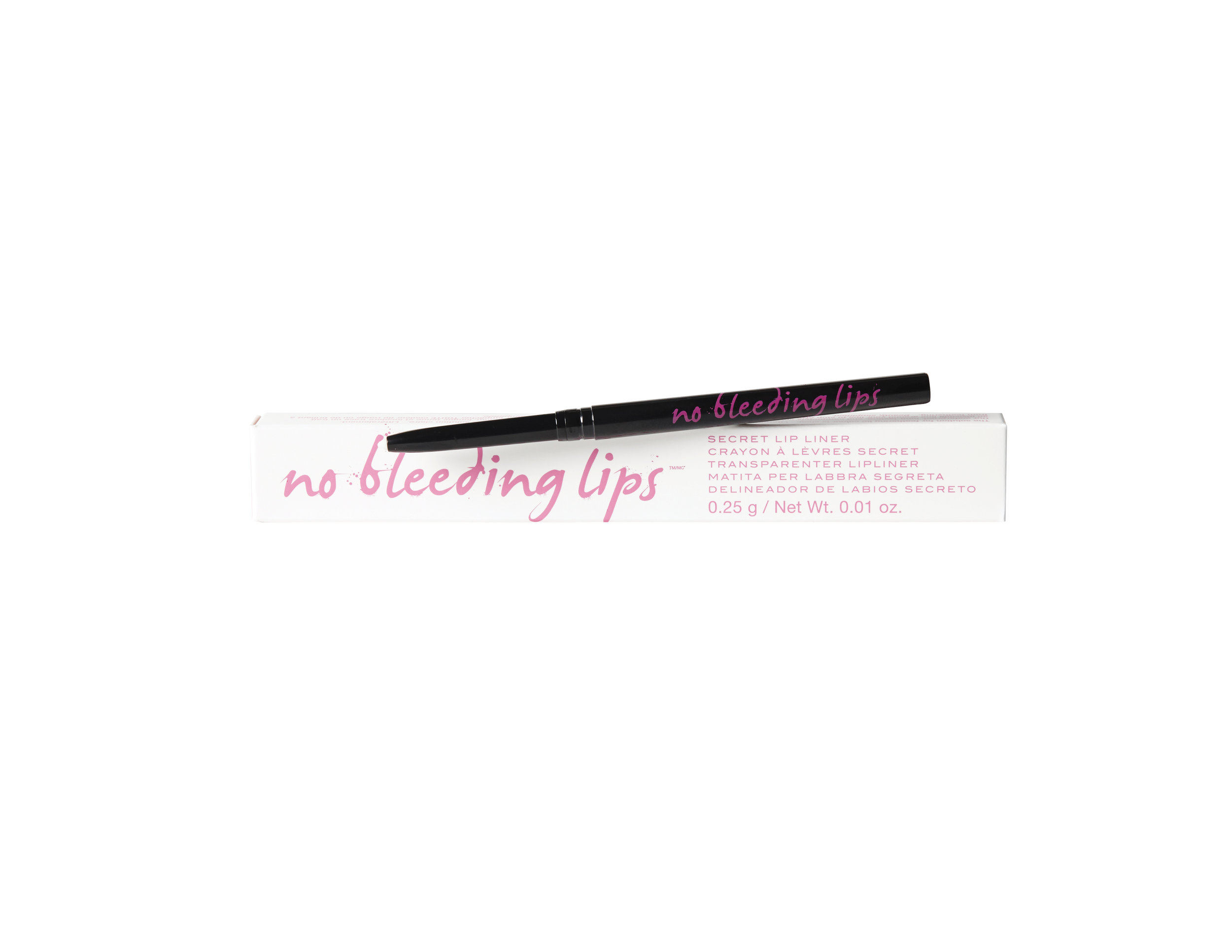 KNOW Cosmetics No Bleeding Lips, $20.00. Available at Shoppers Drug Mart, Hudson's Bay, Beauty Boutique.