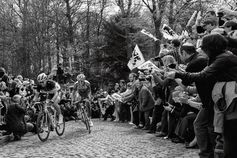 Fabian Cancellara and Sylvain Chavanel in duel