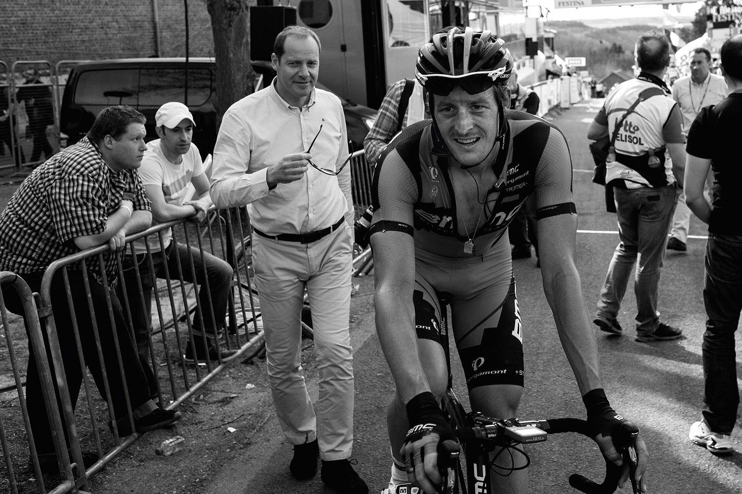 110. Marcus Burghardt and Christian Prudhomme