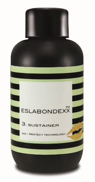 3. SUSTAINER  Bi-weekly at home treatment that delivers emollients to enhance hair's suppleness and impart shine.