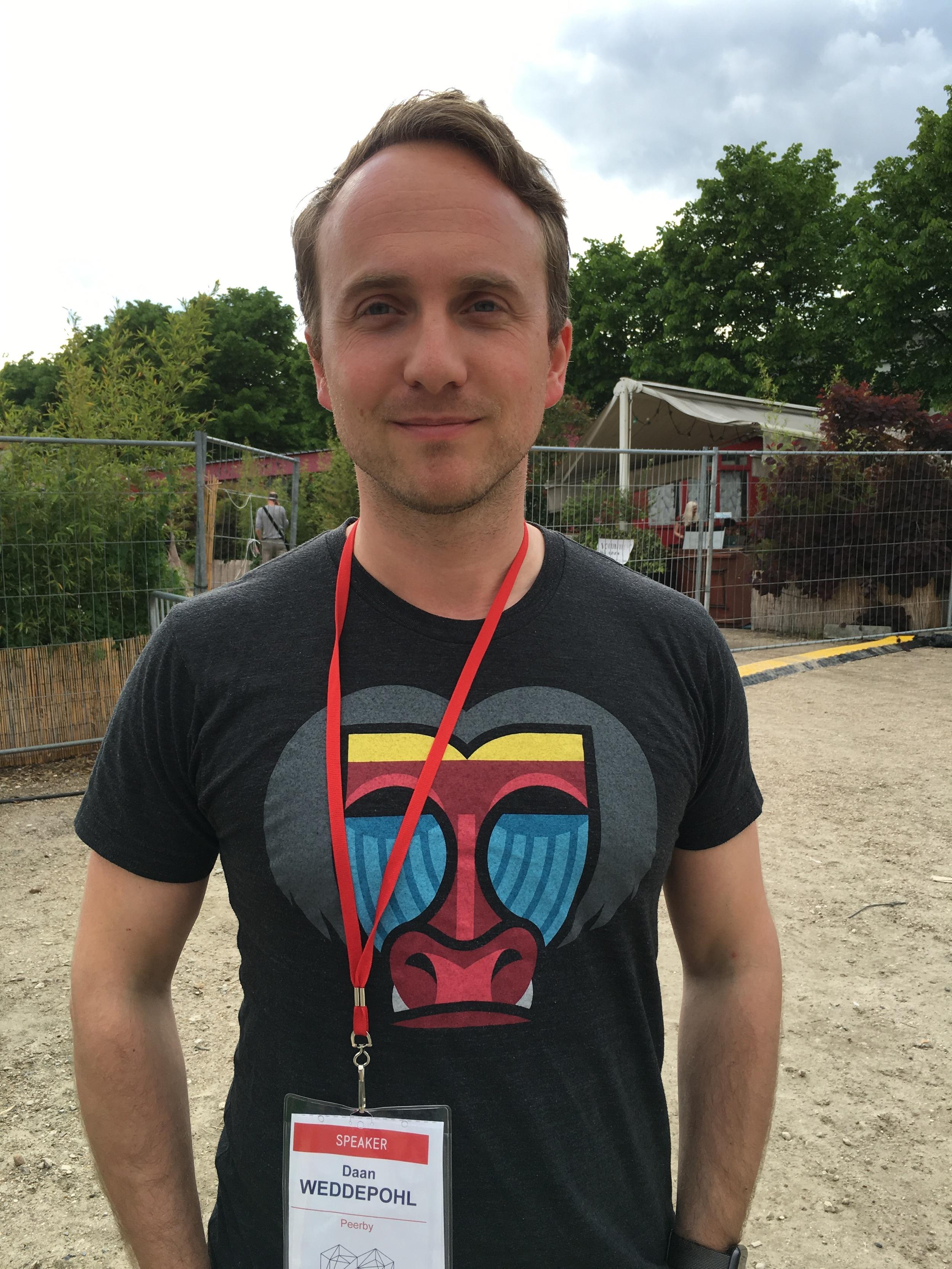 Daan Weddepohl, founder of Peerby