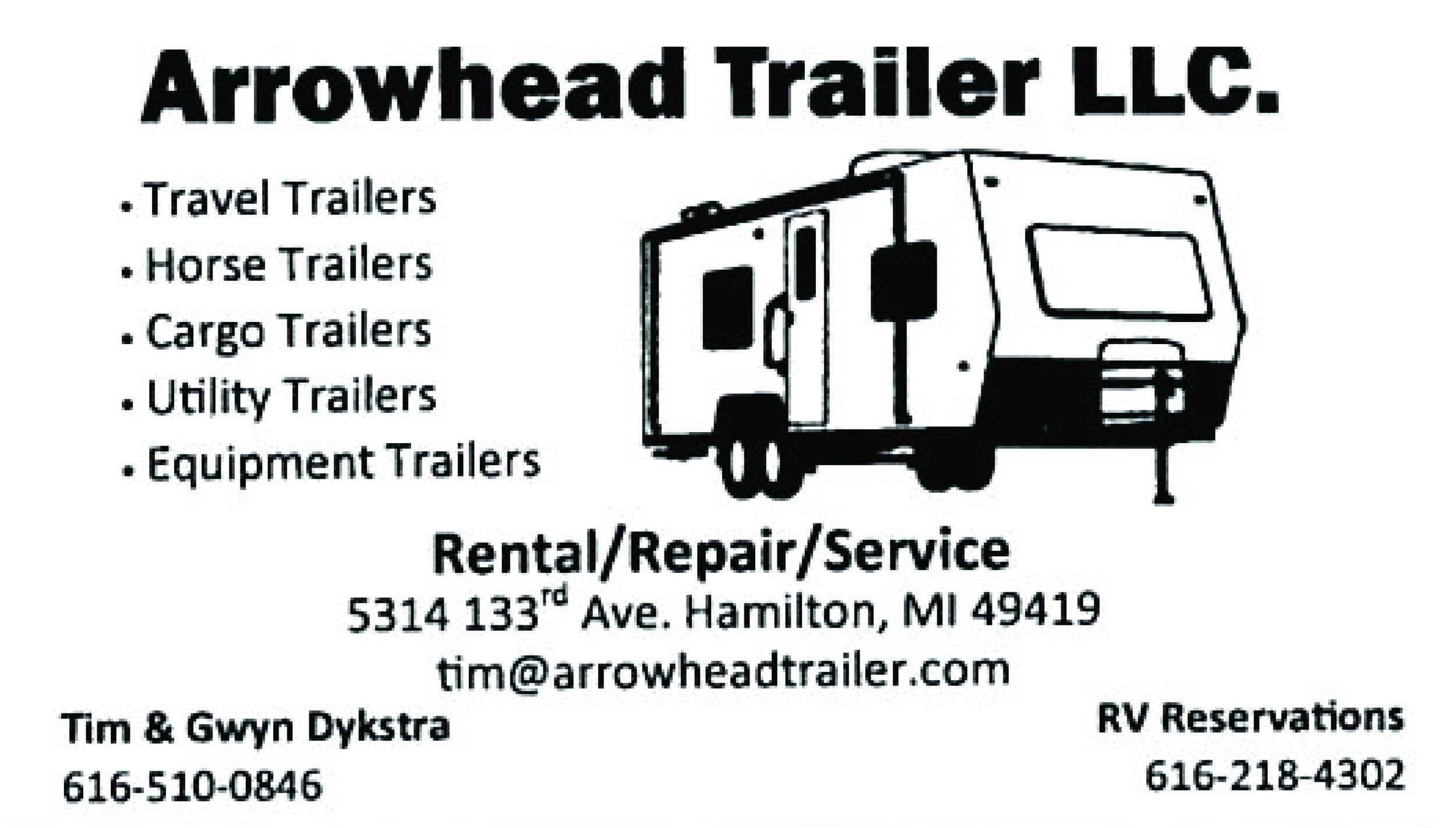Horse trailer rental, repair, reconditioning and acid washing. We can even fix you up with new tires.  go to  arrowheadtrailer.com  to see our complete rental fleet.