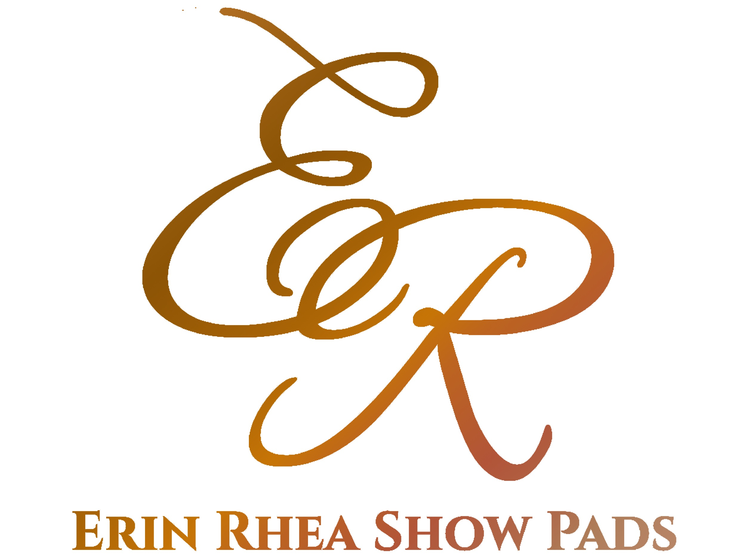 Erin Rhea Show Pads — professional quality show pads at an unbeatable price