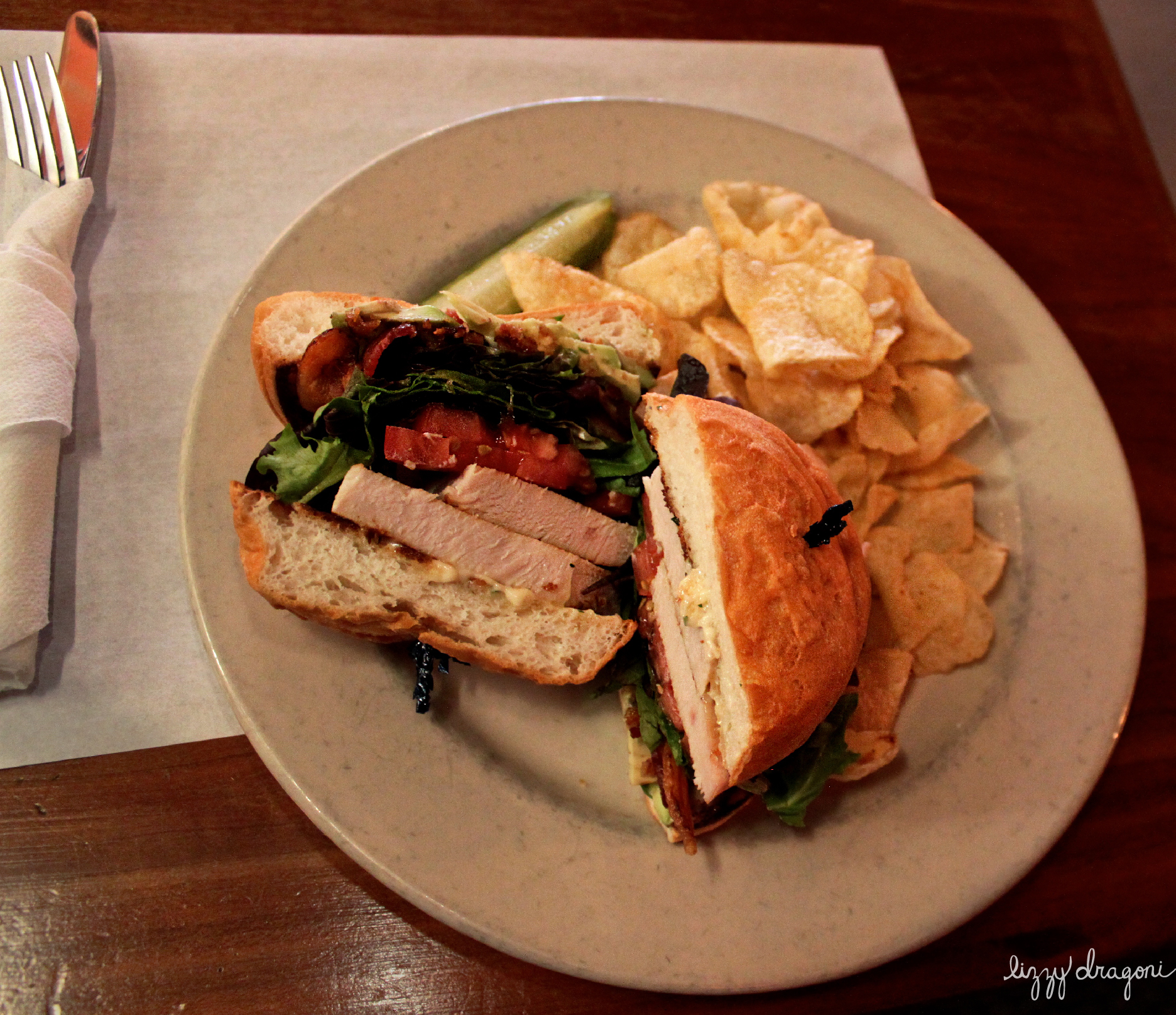 Gluten Free Turkey Club