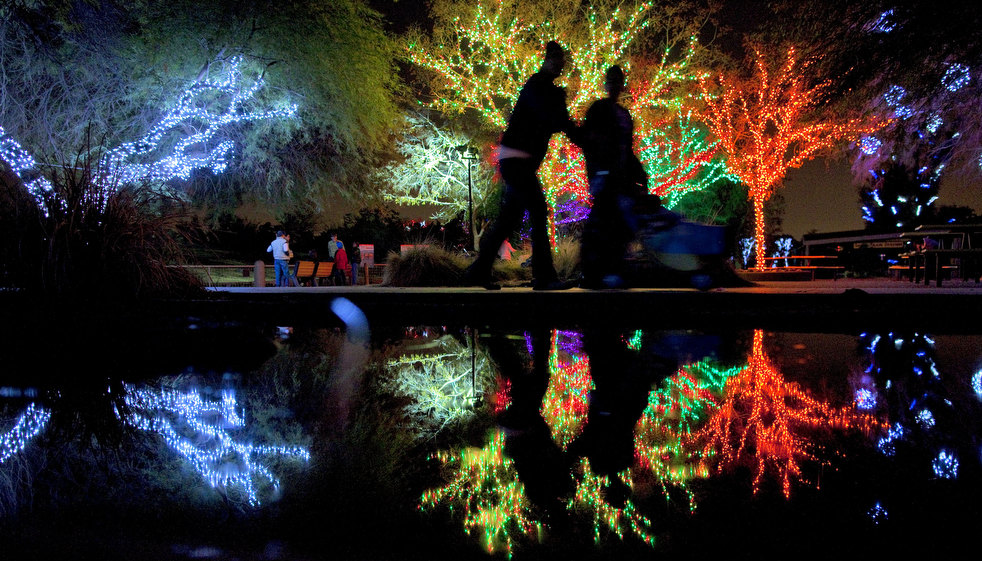 ZooLights at the National Zoo. Free. (Only a 10 minute walk from HighRoad Hostel DC)