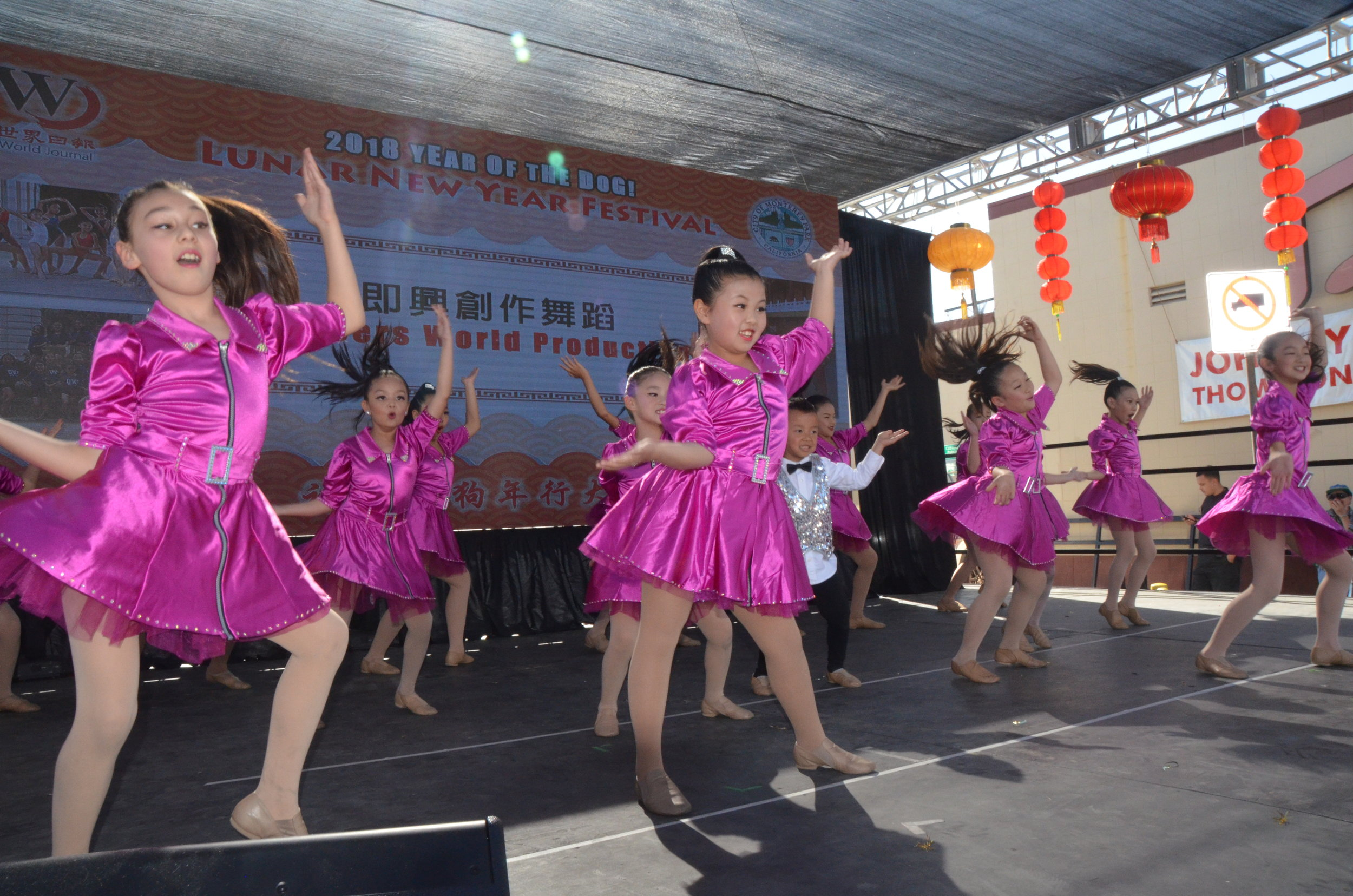 Folk Dance Performances at the Lunar New Year Festival.