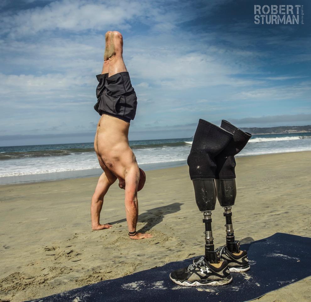 Staff Sergeant Dan Nevins  - U.S. Army Operation Iraqi freedom II. Veteran turned yoga teacher. Coronado, California.
