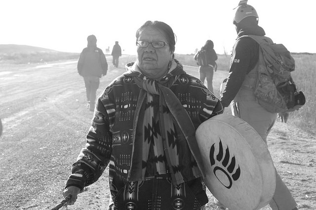 Amber Hockeborne. Echos of Prayer for Sacred Land and Water November 11, 2016. Standing Rock
