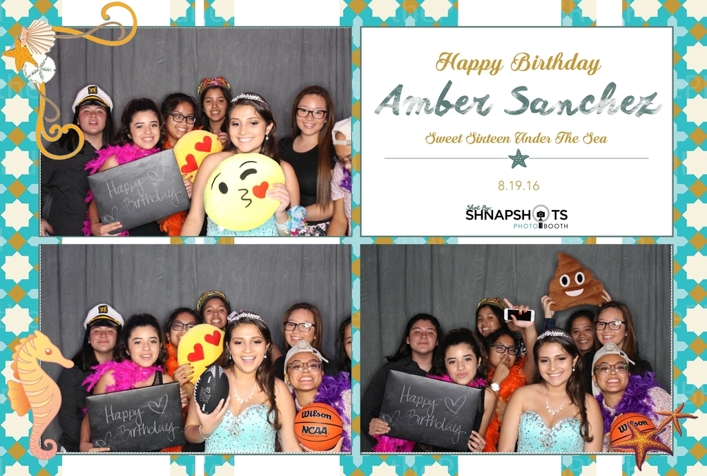 Amber's Sweet 16 - Aug 19, 2016