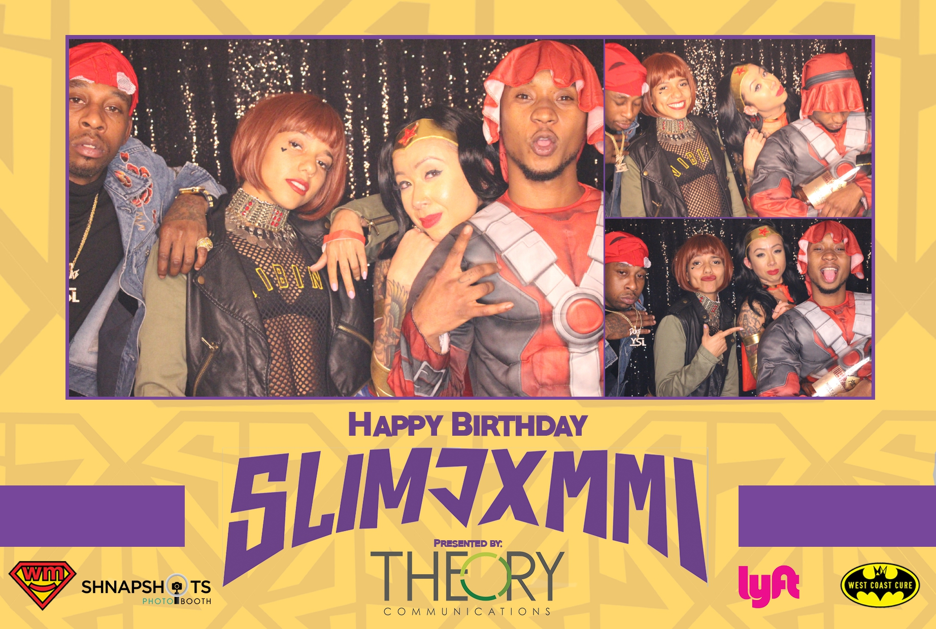 Slim Jxmmi's Birthday