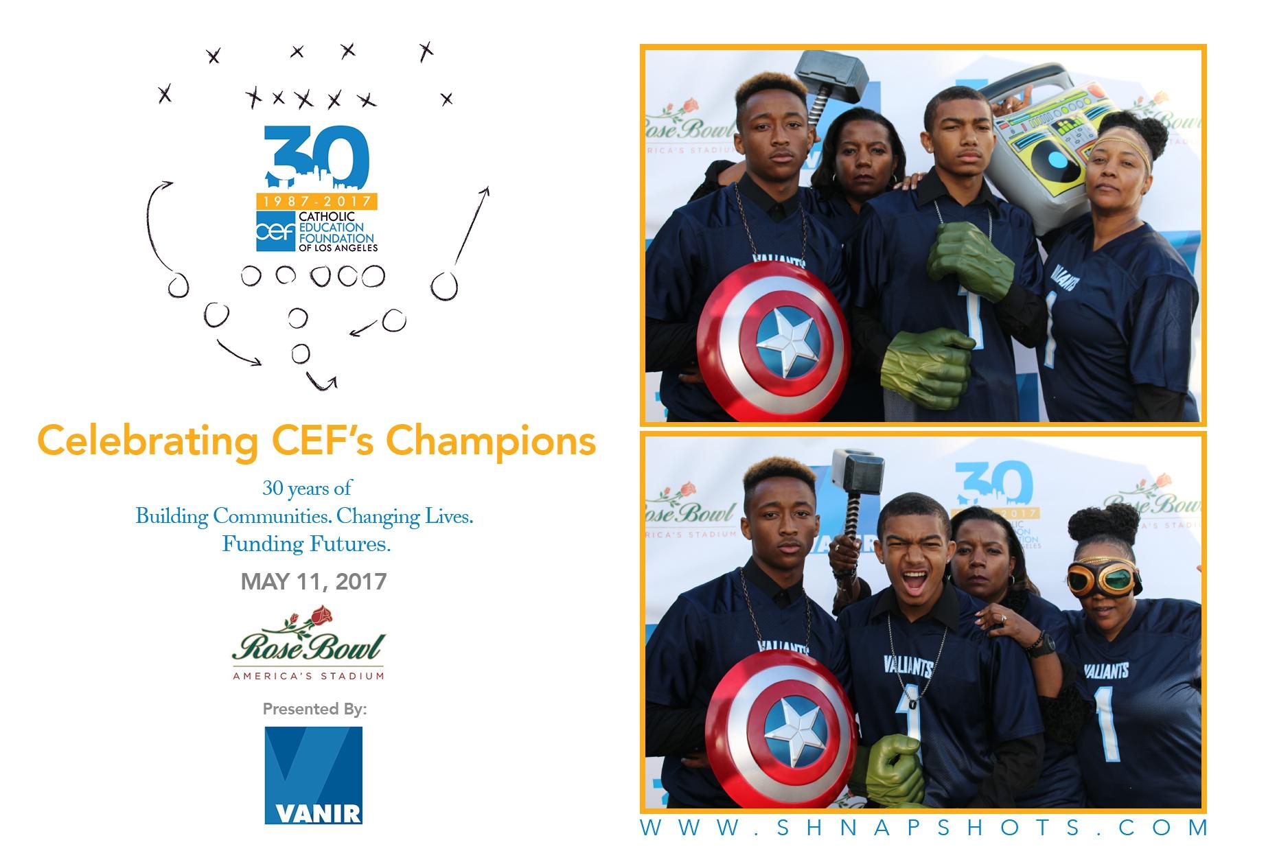 Celebrating Champion's - CEF