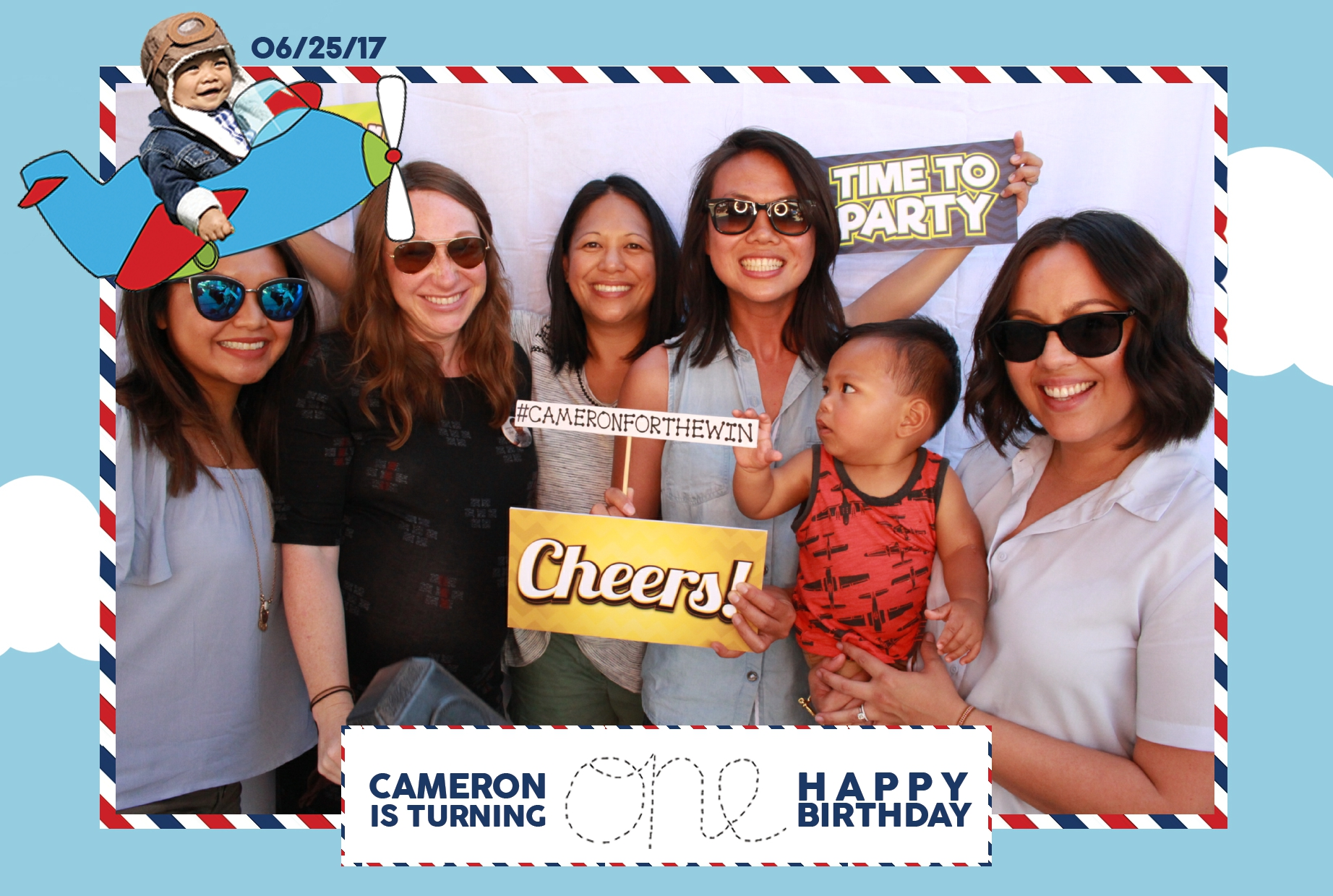 Cameron's 1st Birthday