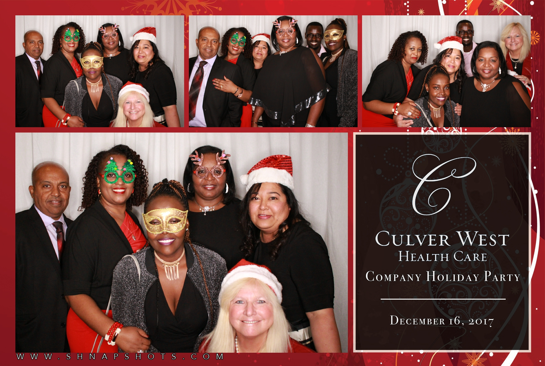 Culver West Health Care Holiday Party