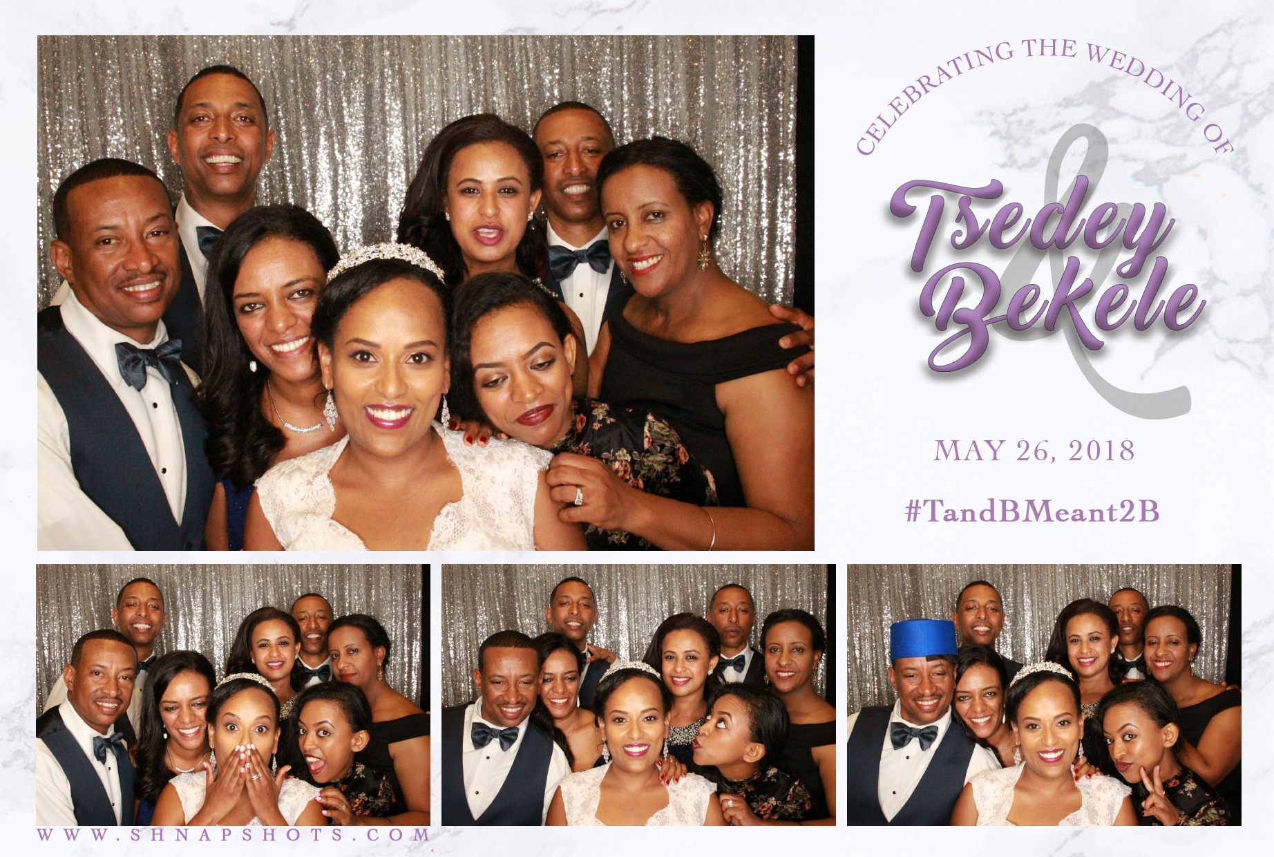 Tsedey & Bekele Wedding
