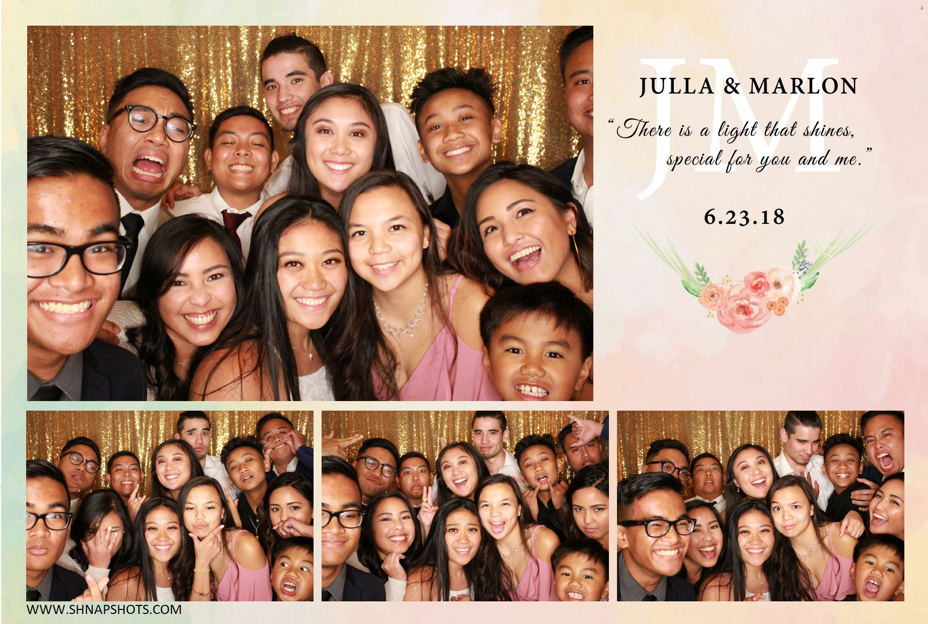 Julla & Marlon Wedding