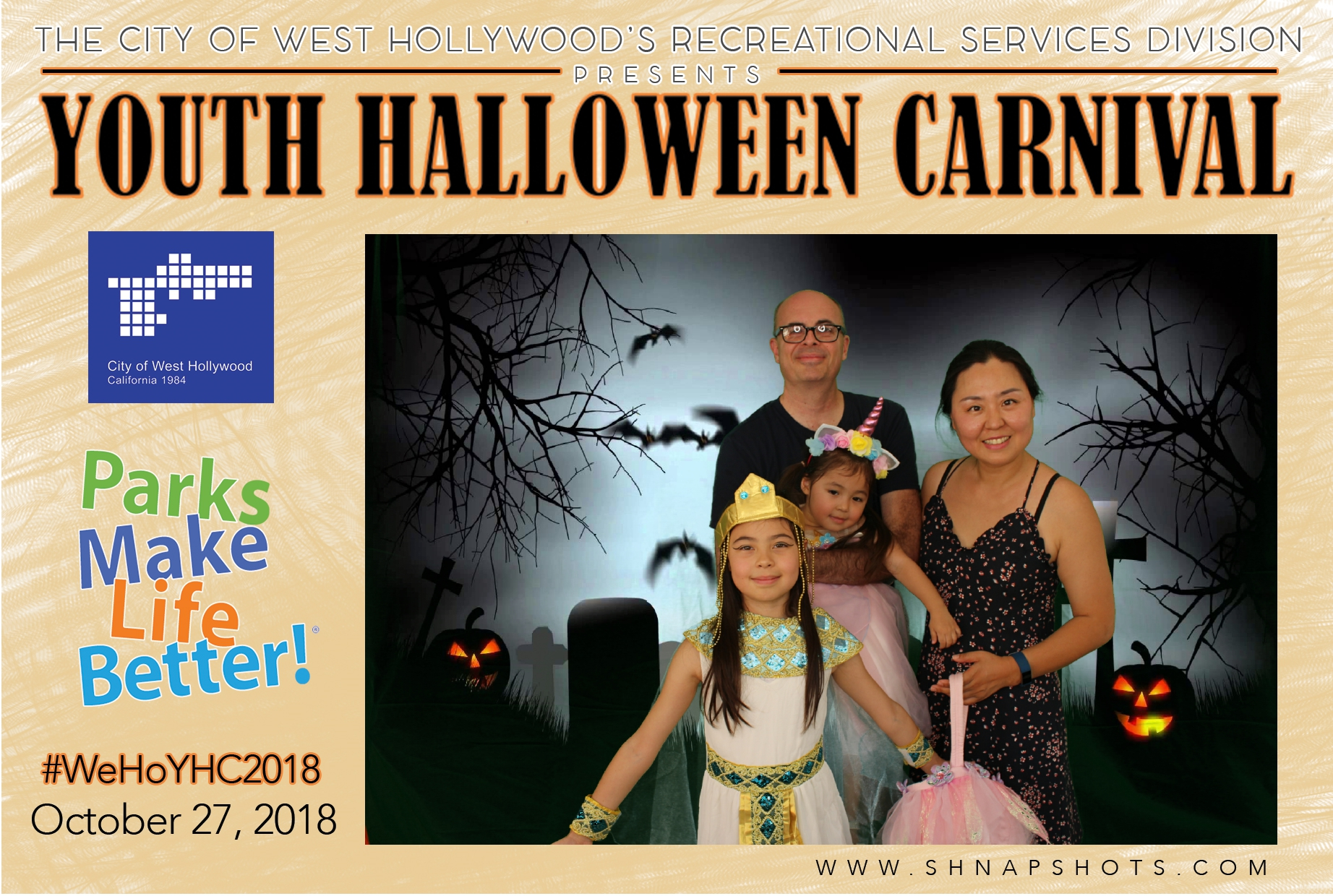 Youth Halloween Carnival: City of WeHo