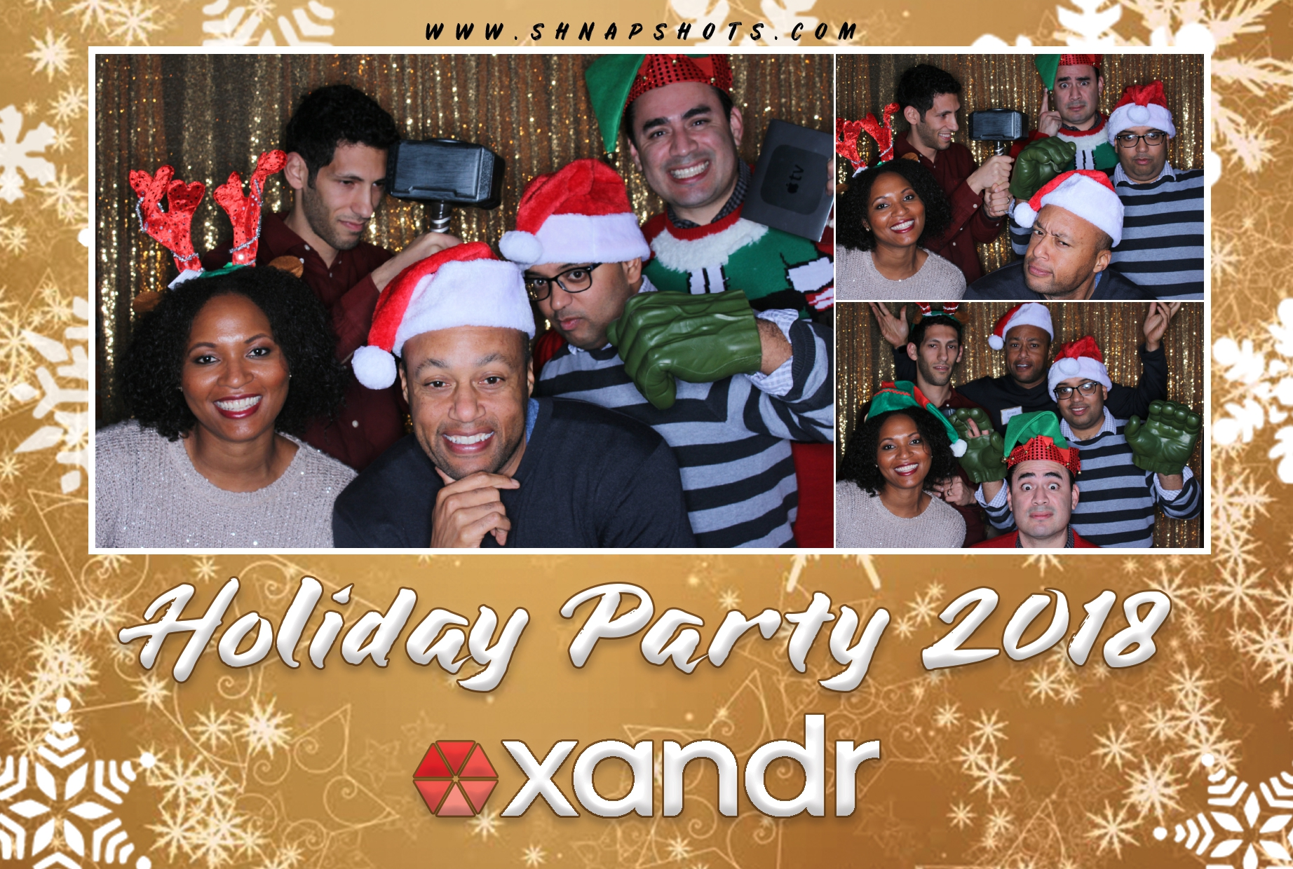 Xandr Holiday Party 2018