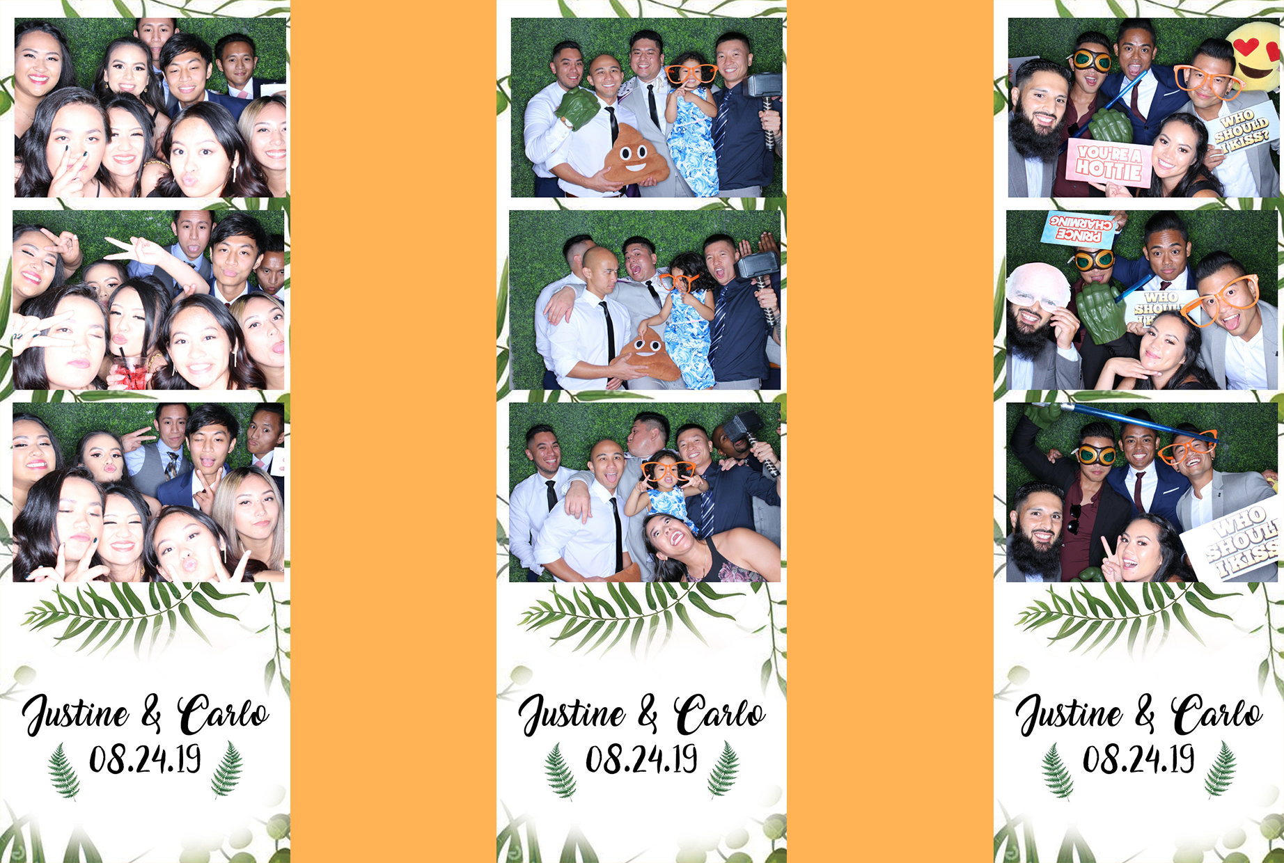 Justine & Carlo Wedding