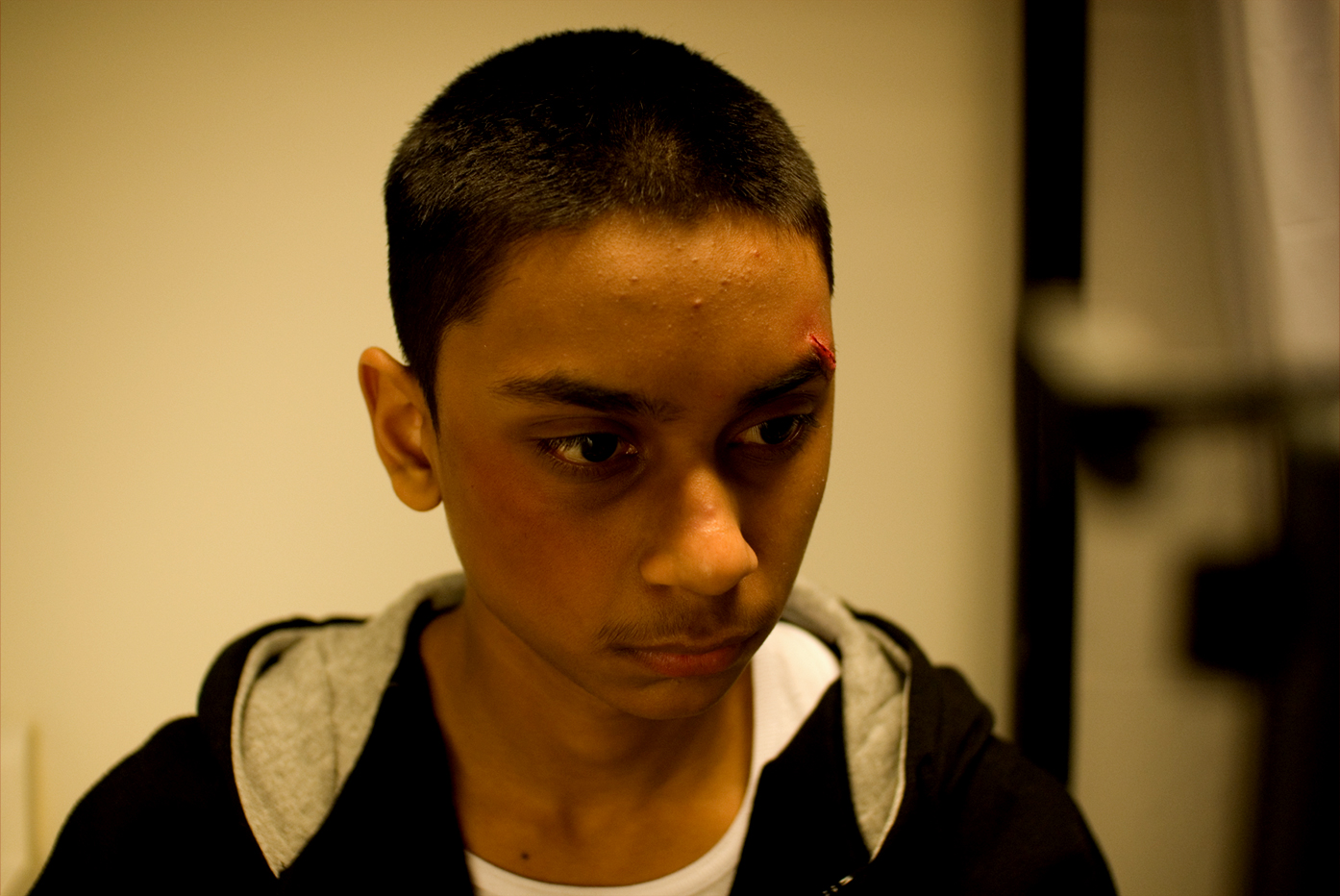 Ryan Persaud on the set of  Karim  (2007)