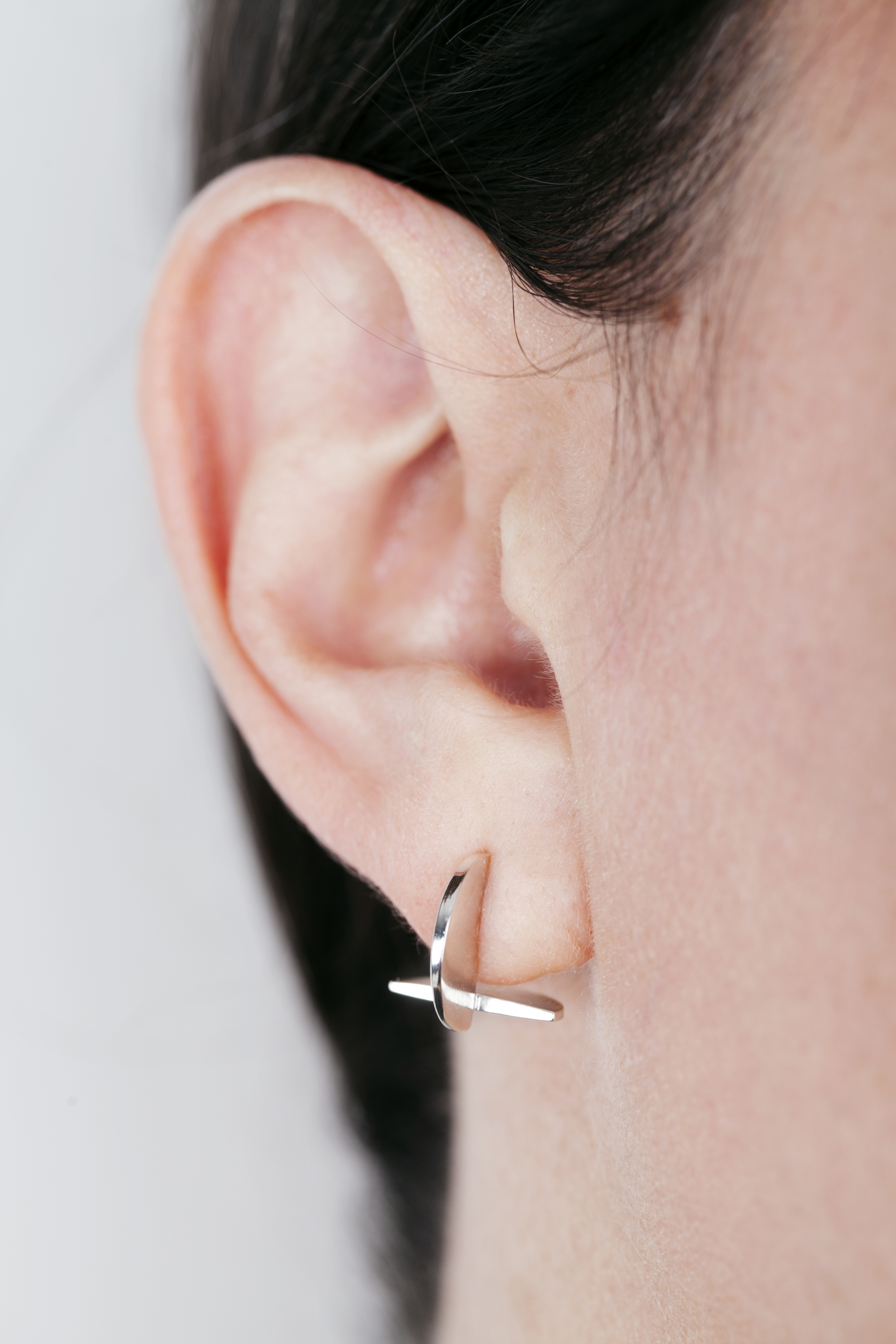 Bisect 3 Earrings