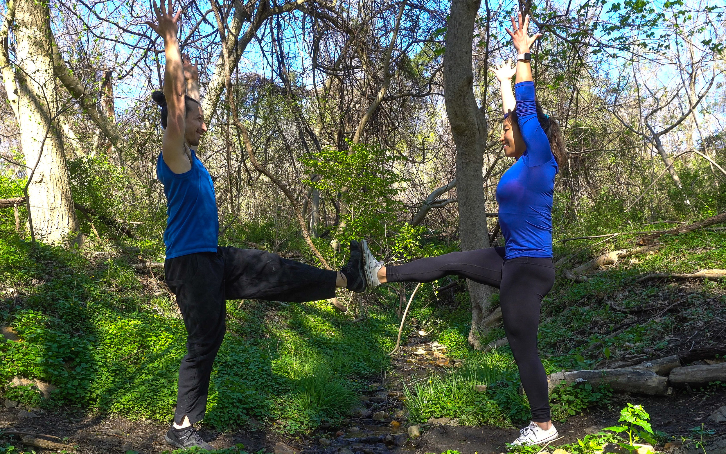 Jung and Emile (pictured above) will be leading you through energizing yoga classes. Jessica will guide creative art making sessions designed to facilitate personal processing and reflection.