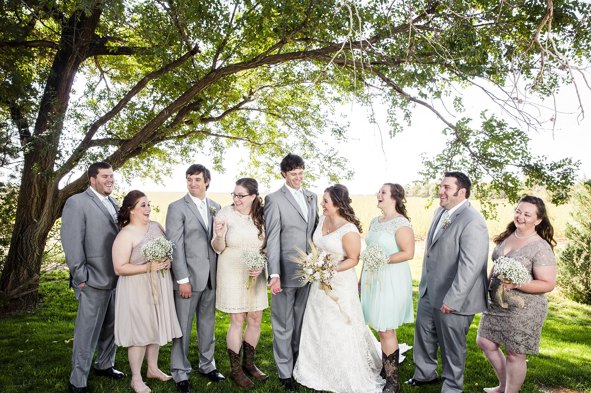 Lubbock Wedding Photography Wedding Photographer Walnut Tree Bridal Party