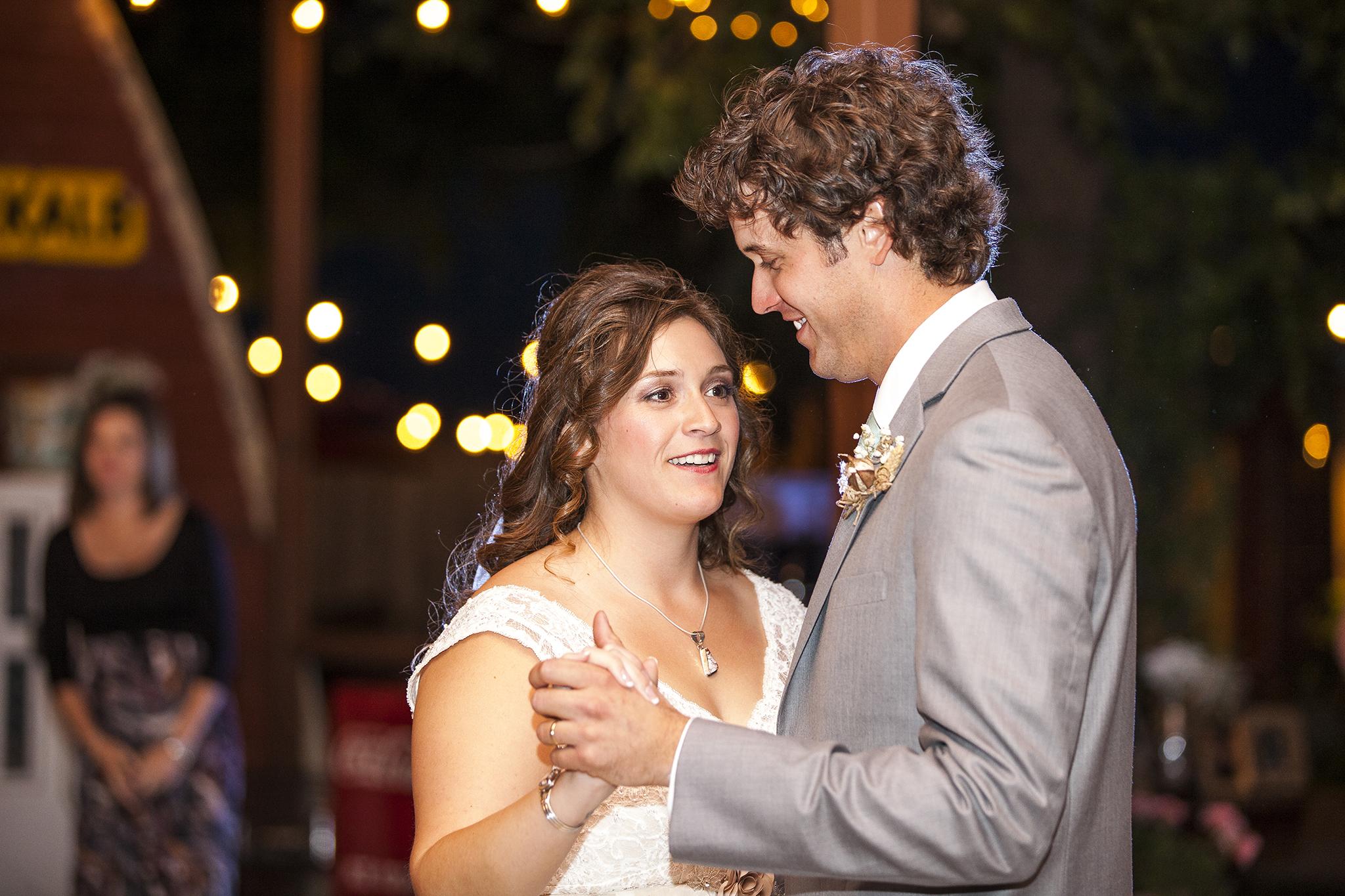 Lubbock Wedding Photography Wedding Photographer Walnut Tree Bride and Groom Dancing