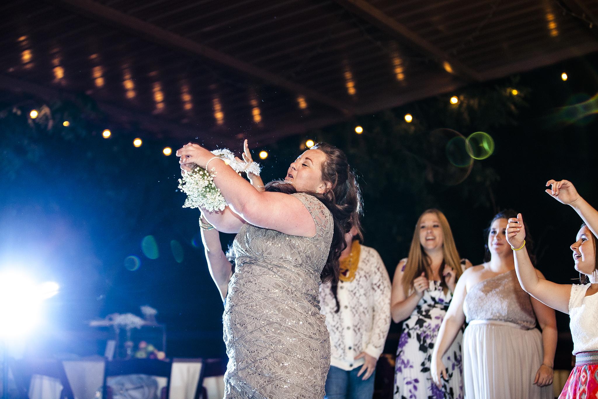 Lubbock Wedding Photography Wedding Photographer Walnut Tree Bouquet Toss Single Ladies