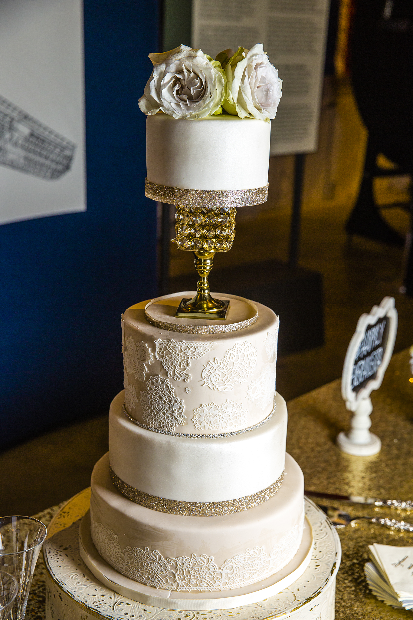 wedding cake, beautiful cake, wedding reception, made by the mother of the bride