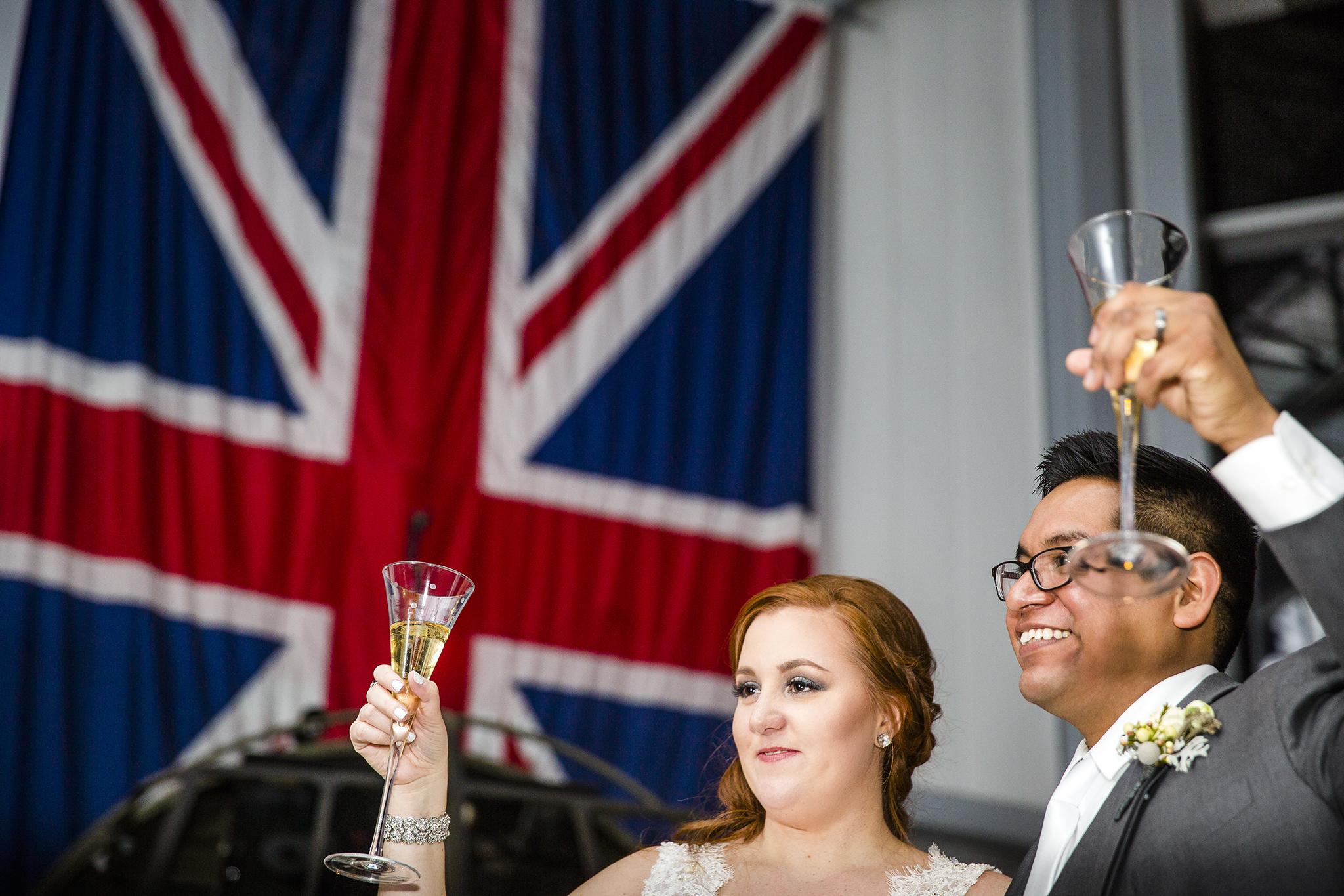 wedding toasts, britain and america, wedding reception