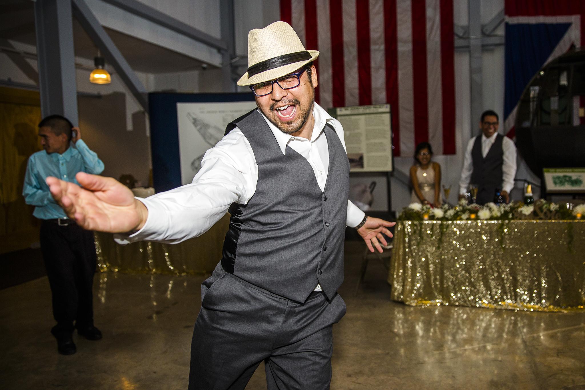 wedding reception, wedding dance, fun dance pictures