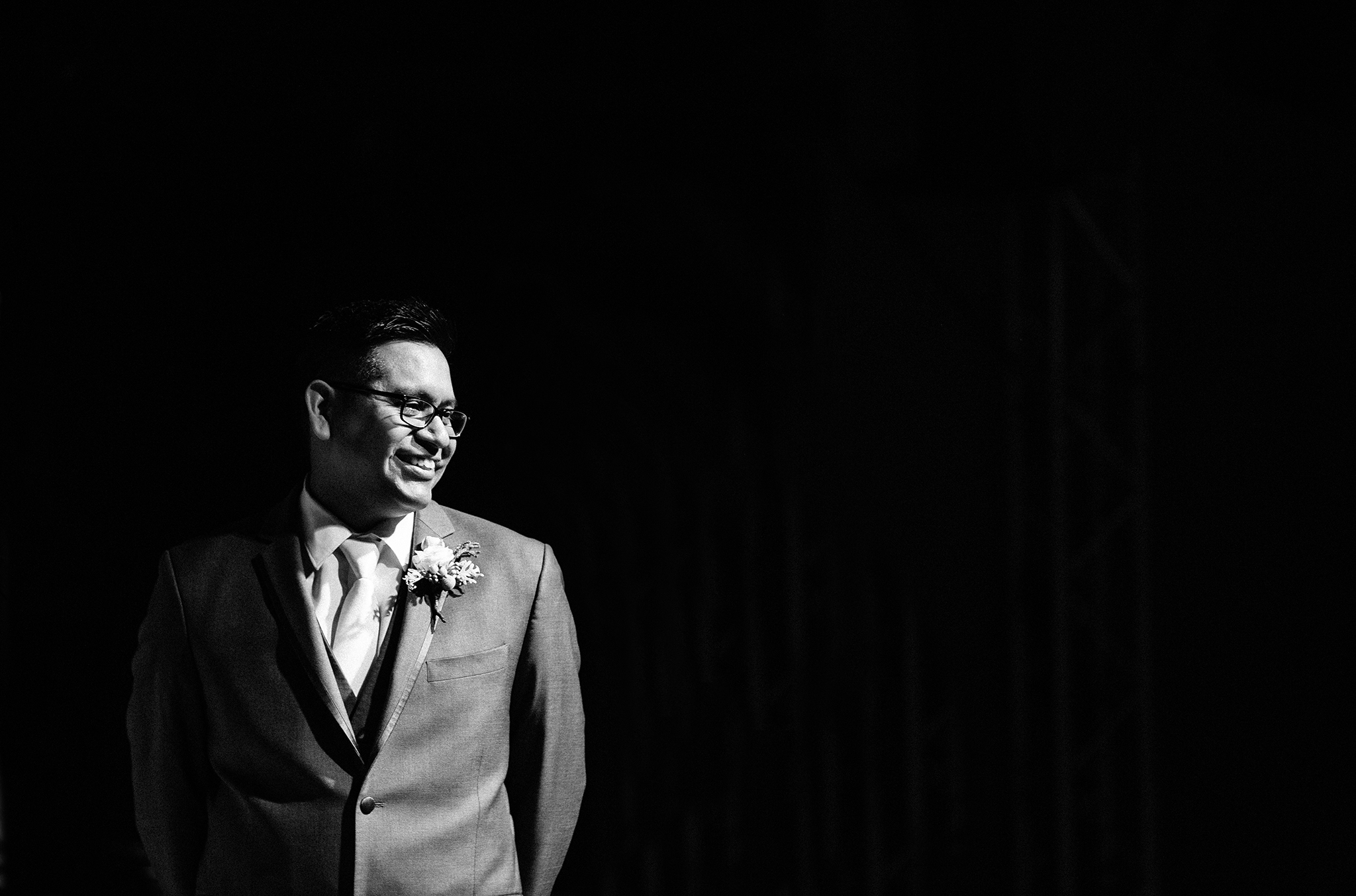 wedding ceremony, dramatic, edgy, bride's entrance, experience life church