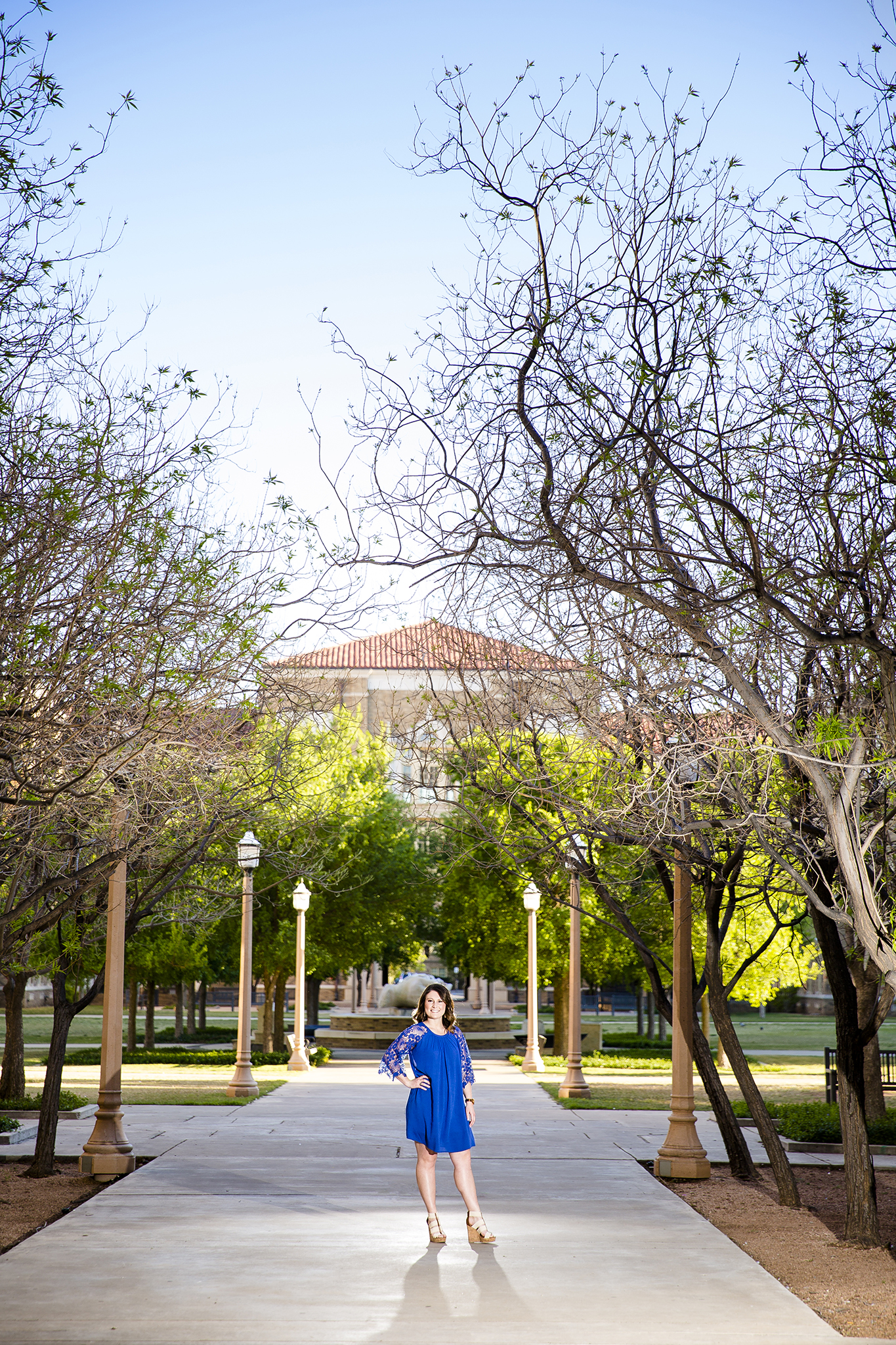 College Campus, TTU, Senior Pictures