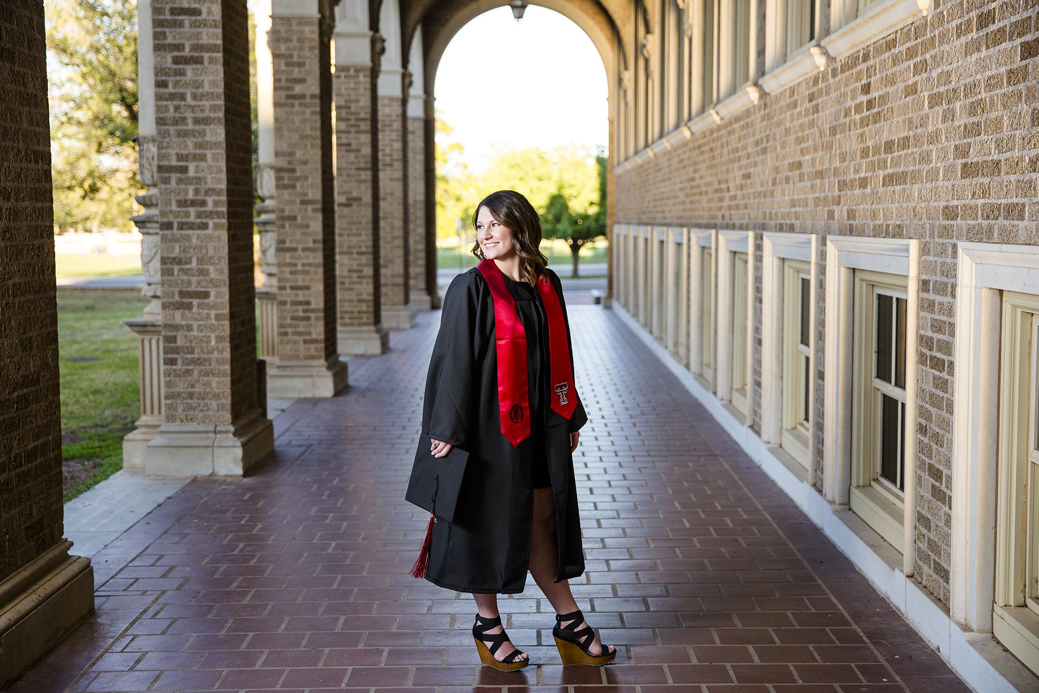 Graduate, College Senior Portraits, 2016