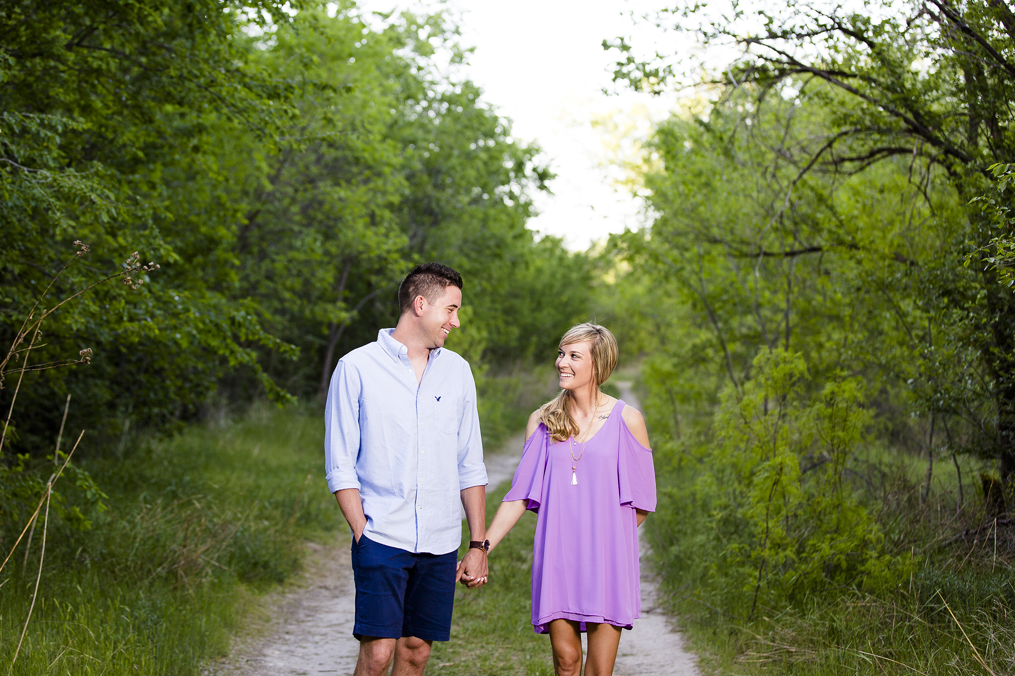 Engagement Photography, Trees