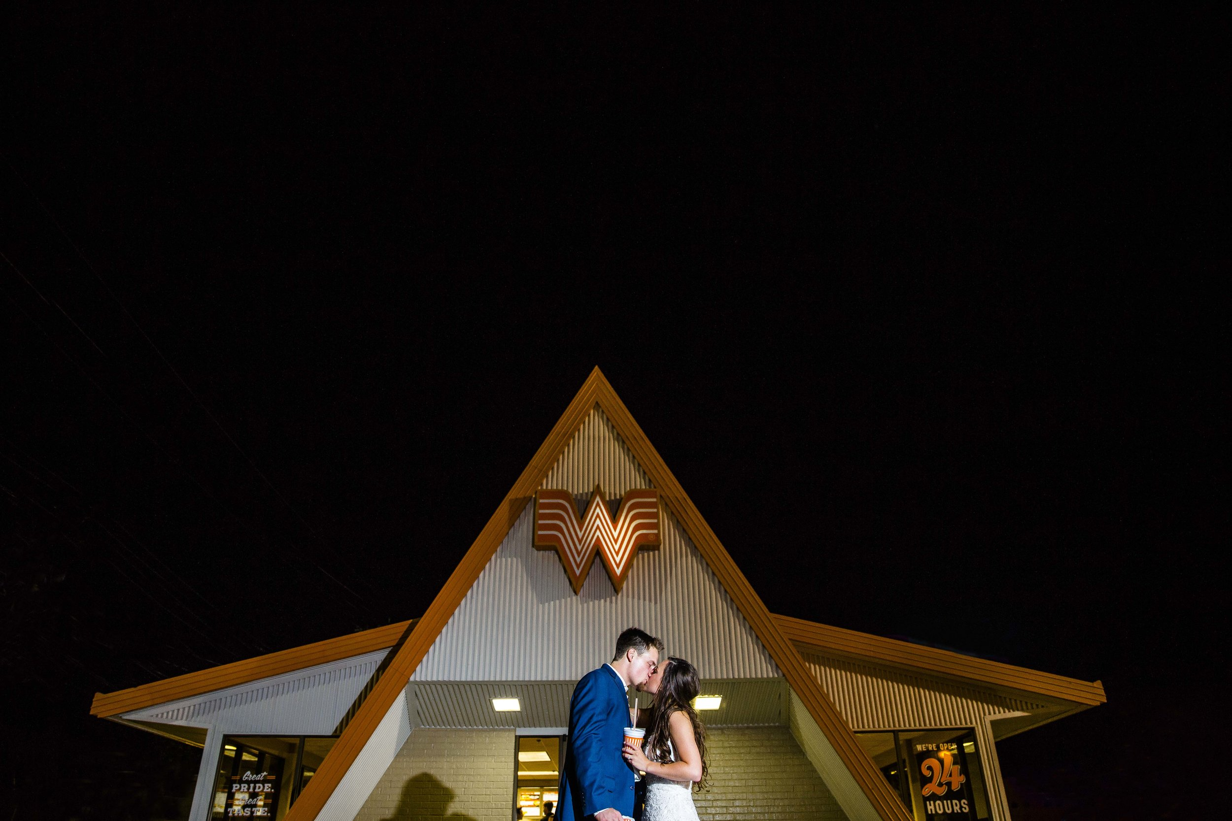 whataburger, creative wedding photography, dramatic lighting, hard light, we shoot all day, romantic, sweet, lubbock wedding photography
