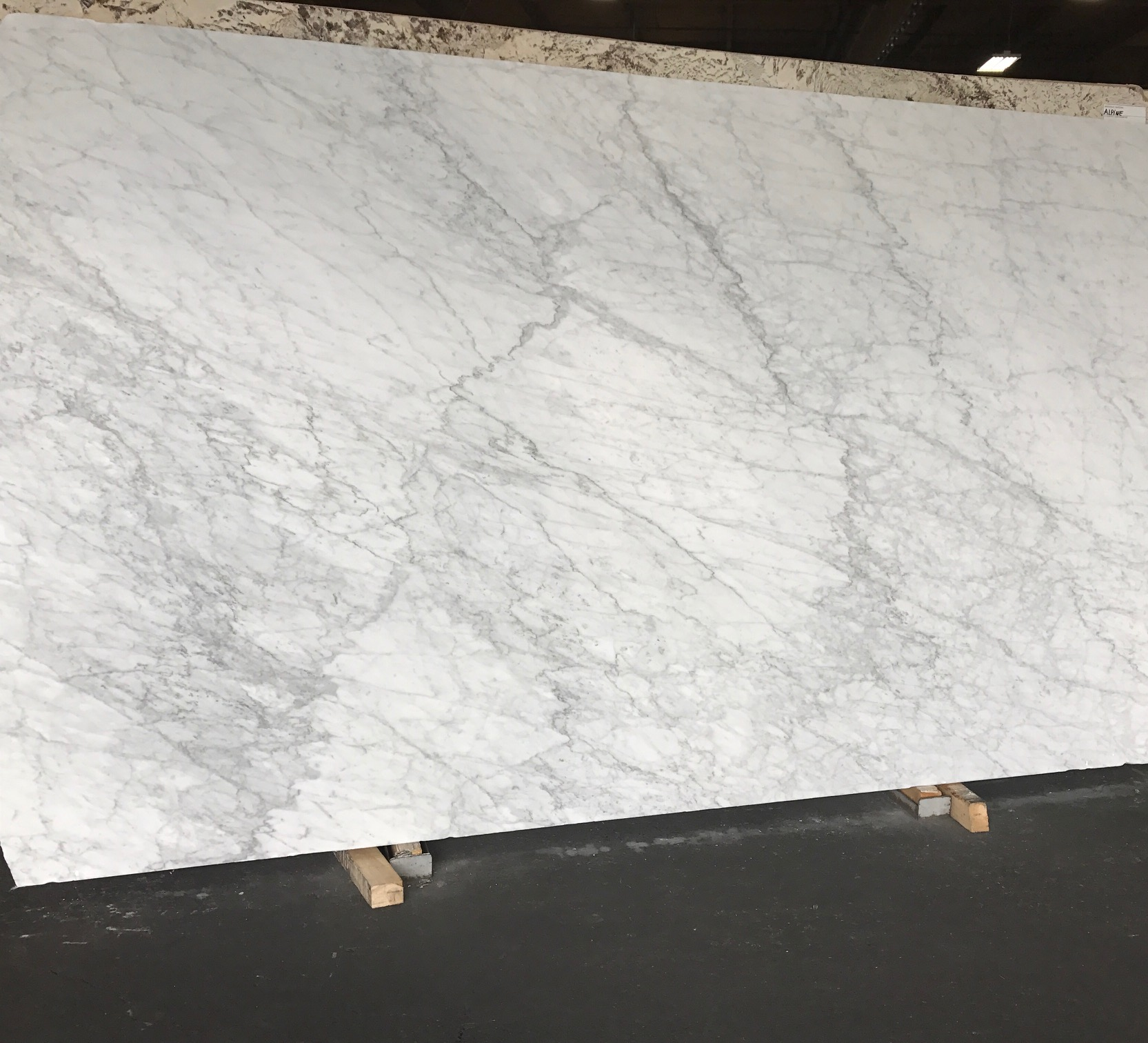 A trip to the stone yard NEVER fails to get my creativity boiling!This marble slab is from the same block that we tagged for an amazing client in Snohomish. She's seriously the sweetest, is trusting and has impeccable taste.