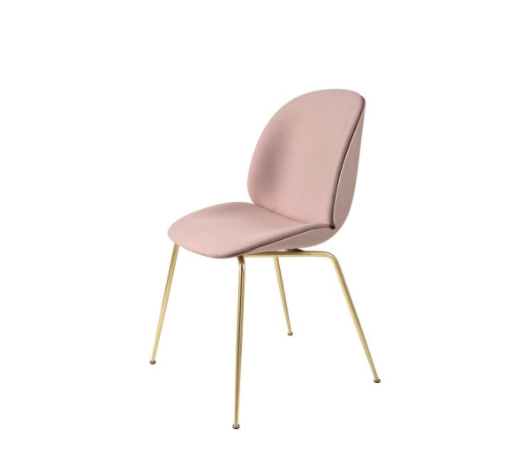 The Beetle Chair has me wanting to place it in every color on every project right now! It was designed by Enrico Fratesi. Google the process sketches sometime... super neat.