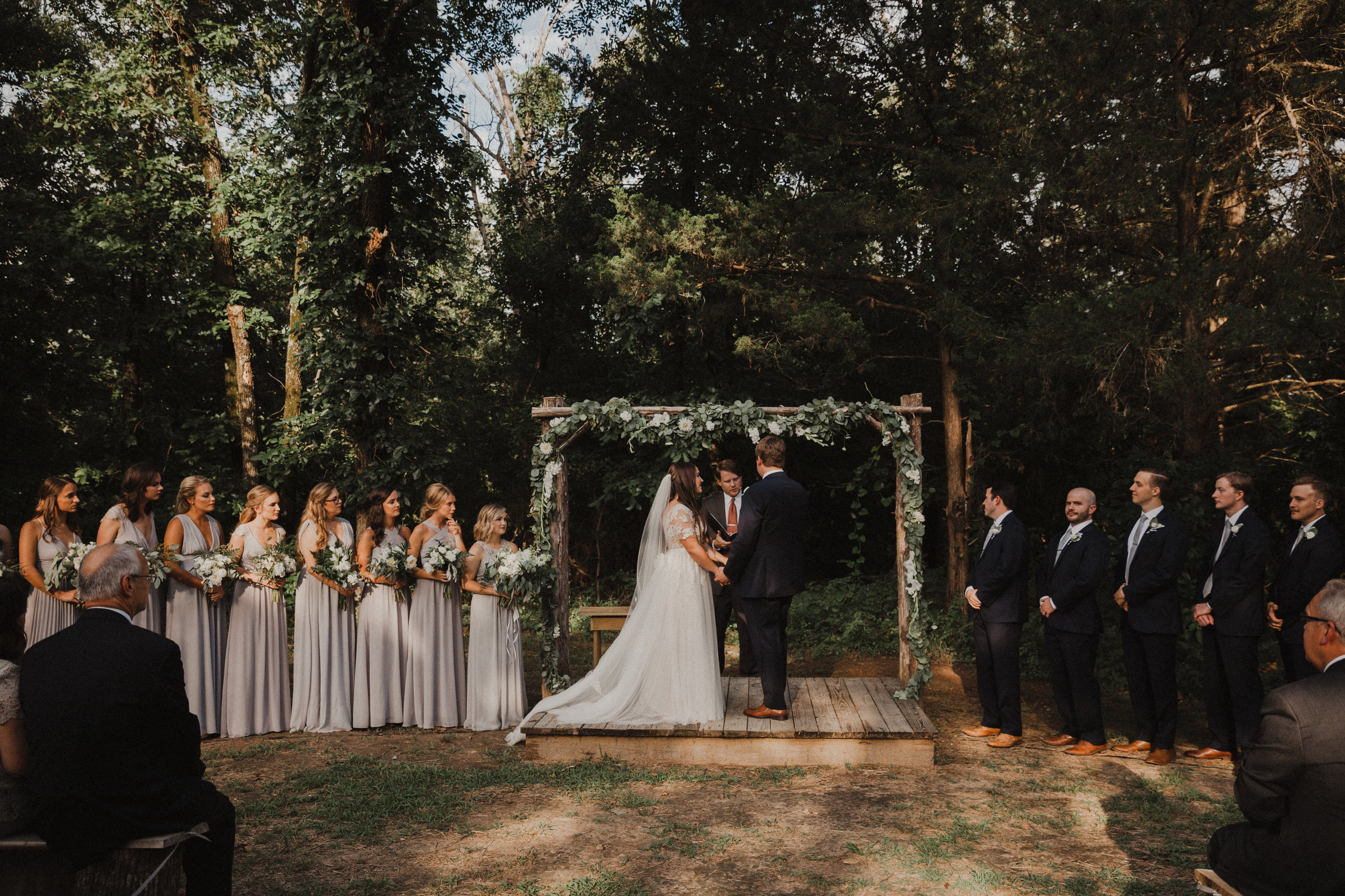 2017 giveaway winner! - matthew & melissa's arkansas wedding