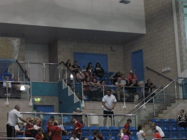 Our supporters were poolside, cheering us on! Many Thanks to the mums and dads.