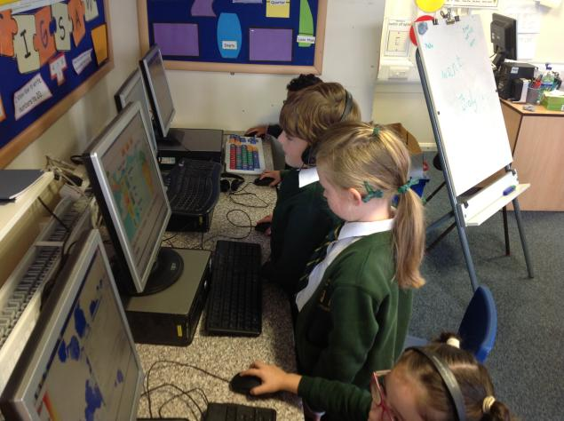 We have been recaping our phonics from last year. We are working on phase 3, 4 and 5. We have been playing games, using the computers, reading and lots of other things too.