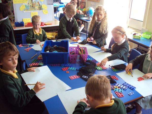 We have been using numicon.