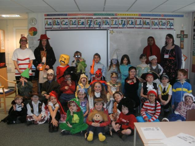 The children looked fantastic on World Book Day, thank you for making their costumes!