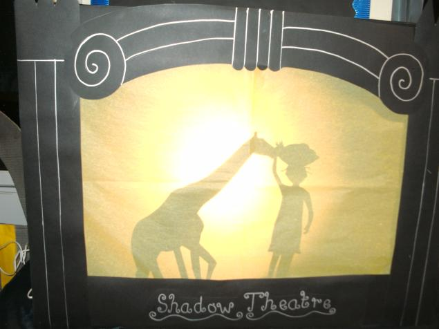 We learned that shadow puppetry is one of the oldest forms of puppetry. We read traditonal folk stories: Hansel and Gretel from Germany, Handa's surprise from Africa and Baba Yaga and the Black Geese from Russia. The children performed  their verisons of the stories using our shadow puppets and shadow puppet theatre.