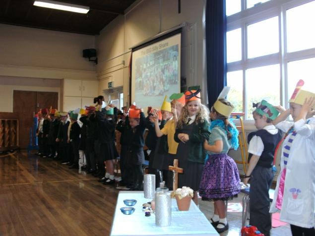 Well done to  Year 2 for a fabulous assembly about how special we are and what a wonderful world we live in.